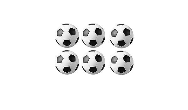 Mace Fútbol Futbolín de Mesa de Bolas Bolas de Recambio 6-Pack ...