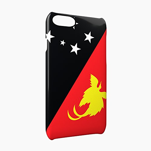 Flag of Papua New Guinea Glossy Hard Snap-On Protective iPhone 7 Case Cover
