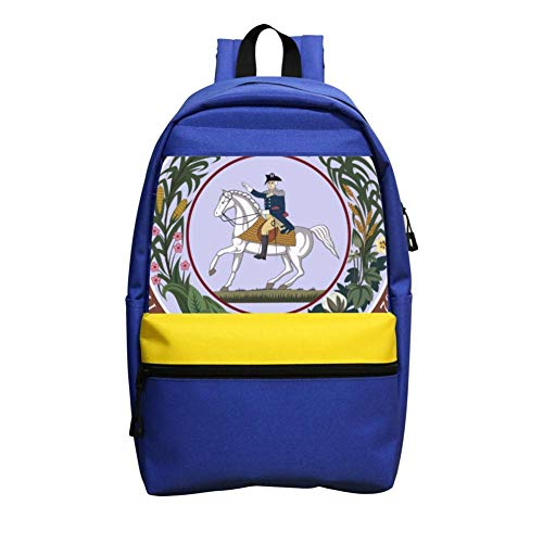 School Bag 3D Printing Seal of the Confederate States of America Boy Girl School ()