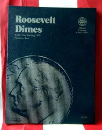 Roosevelt Dime....1946 to 1964 (Whitman Folder)