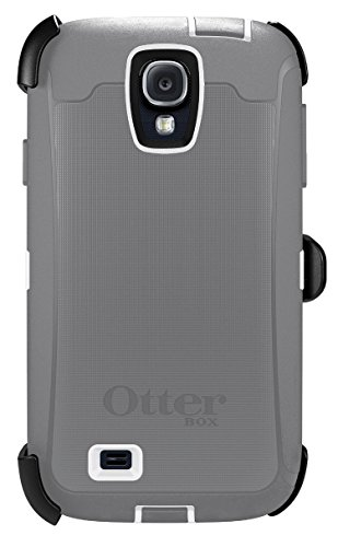 OtterBox 77-27437 'Defender Series' Protective Case for Samsung Galaxy S4 Phone - Glacier (Retail Packaging from OtterBox)