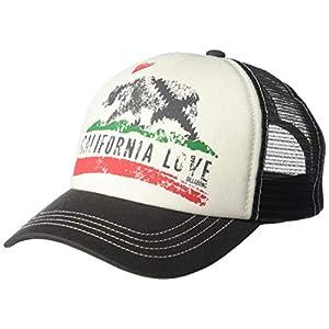 Billabong Girl's California Love Pitstop Mesh Back Adjustable Trucker Hat