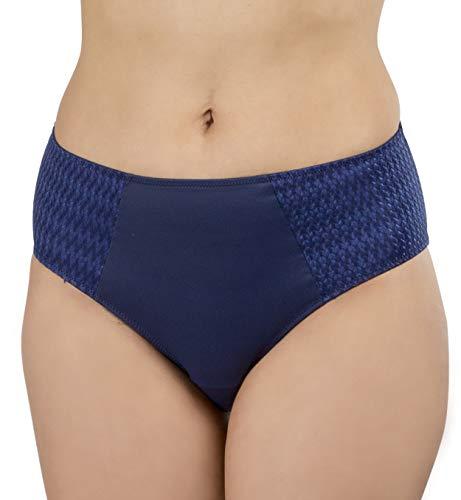 Carole Martin Women's Underwear Hipster Panties, Ultra Soft Microfiber Comfort Briefs Blue]()