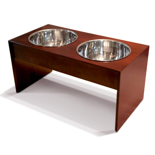 PetFusion-Elevated-Dog-Bowls-in-Premium-Grade-A-New-Zealand-Pine-Stand-Tall-8-Water-Resistant-2-US-FOOD-GRADE-Stainless-Steel-56oz-bowls