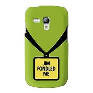 Jim Fondled Me abrigo lleno carcasa Samsung Galaxy S3 Mini de Chargrilled
