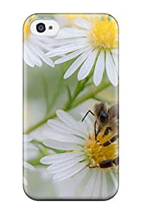 Snap-on Bee Case Cover Skin Compatible With Iphone 4/4s