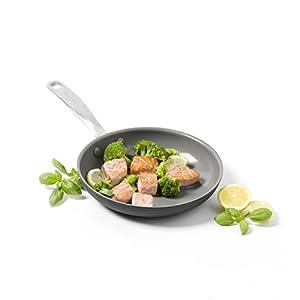 """GreenPan Chatham 10"""" ceramic Non-Stick Open Frypan, Grey"""