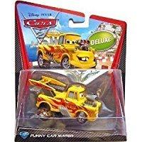 Diecast Funny Car - Disney / Pixar CARS TOON 1:55 Scale Die Cast Car Funny Car Mater Mattel