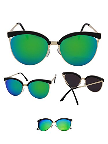 réfléchissantes trame cadre demi lunettes Couleur Des soleil de couleur Lunettes soleil de de hommes femmes pour mode de soleil X9 A Lunettes Lunettes Lunettes Eyewear Tendances et grand F8vwdaqP