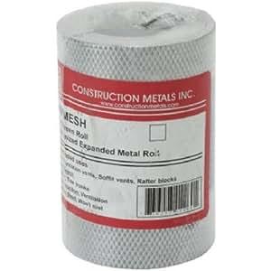 "Construction Metals 4""X25' Mesh Screening"