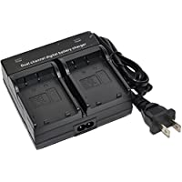 EN-EL23 Battery Charger AC Dual for Nikon ENEL23 Coolpix Coolpix P600 P610 P610S P900 P900s B700 S810C Camera
