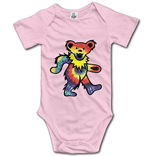 Rock The Grateful Dead Dancing Bear Baby Onesie Bodysuits
