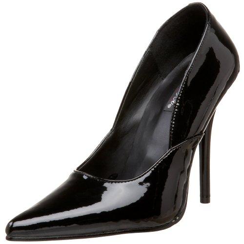 Pleaser F svart top Sneakers Milan Svart 01 blk hi Klapp 4TEq4rwx