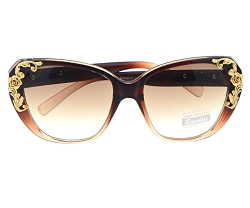 Heartisan Retro Little Flowers Frame Baroque Style Sunglasses for Womens - Try Online Sunglasses India
