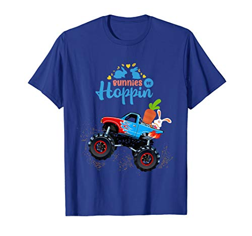 Easter Bunny Rabbit Monster Truck Shirt Toddler Boy for sale  Delivered anywhere in USA