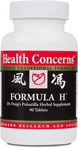 Health Concerns - Formula H - Dr. Fung's Pulsatilla Herbal Supplement - Modified Bai Tou Weng Tang - 90 Tablets ()