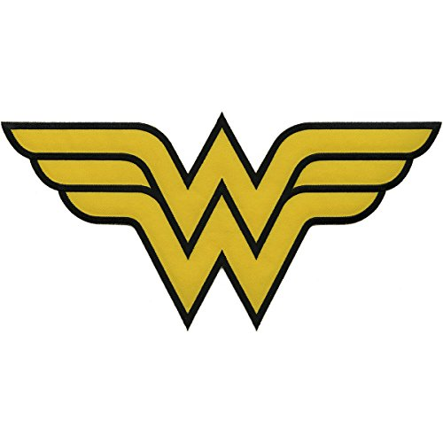 Application DC Comics Originals Wonder Woman Logo Back Patch