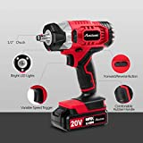 AVID POWER 20V MAX Cordless Impact Wrench with