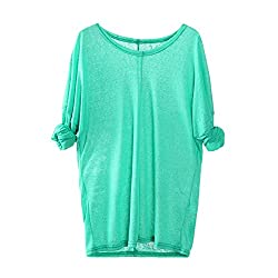 Vermers Clearance Sale Women Clothes Blouse Women Knitting Sweaters Long Sleeve V Neck Loose Casual T Shirt Tops 5xl Green