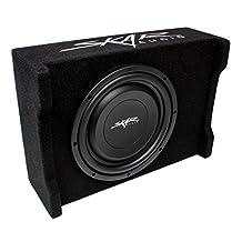 """Skar Audio EV-10MB S2 10"""" Single 2-Ohm 400W Shallow Mount Loaded Subwoofer Enclosure"""