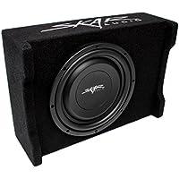 Skar Audio EV-10MB S2 10 Single 2-Ohm 400W Shallow Mount Loaded Subwoofer Enclosure