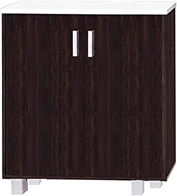 Kitchen Cabinet With Metal Legs Marbel Top Shelf Brown Kc 001 Buy Online At Best Price In Ksa Souq Is Now Amazon Sa