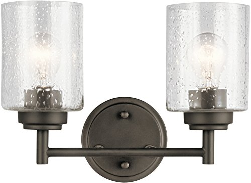 Kichler Lighting 45885OZ Two Light Bath from The Winslow Collection, Olde Bronze