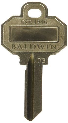 Baldwin C House Key Blank