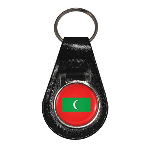 De Adorno 1stopshops Maldivas Cuero Llavero Bandera R1fwxE6
