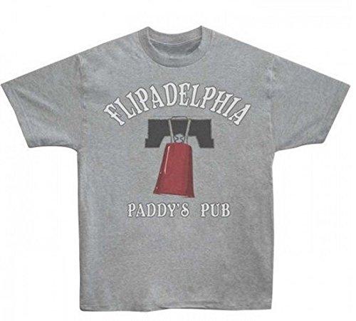 It's Always Sunny In Philadelphia Flipadelphia Herren Grau T-Shirt