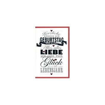 HORN Geburtstagskarte Farbige Musterstreifen: Amazon.de: Elektronik