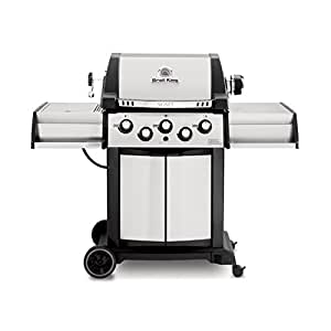 Broil King 986884 Signet 90 Liquid Propane Gas Grill with Side Burner and Rear Rotisserie
