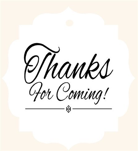 Image result for Thank you for coming