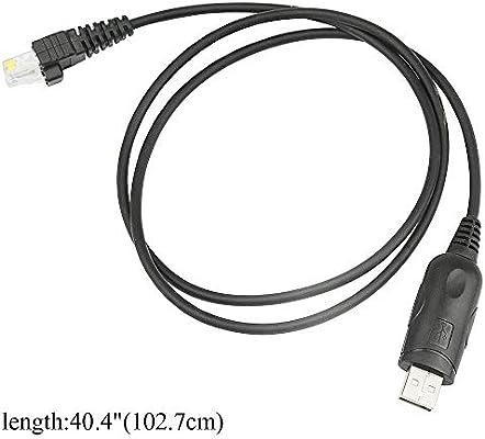 USB Programming Cable for Mobile Radio MOTOROLA CM340 M400 M206 M208 PRO5100