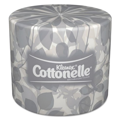 KIMBERLY-CLARK PROFESSIONAL* KLEENEX COTTONELLE Two-Ply Bathroom Tissue - Includes 20 rolls of 505 sheets each.
