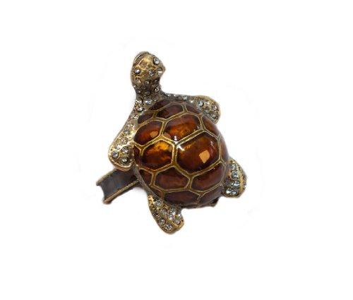 Rennie & Rose - Coastal Collection Turtle Napkin Ring, Set of 4