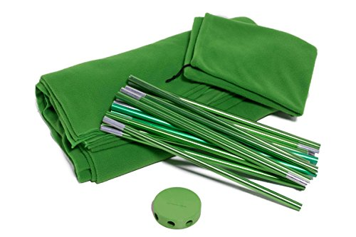 Portable Green Screen Kit by Acro Products – Wrinkle-resistant, chromakey backdrop & collapsible stand. Take it with you and spend less time setting up and editing. from ACRO
