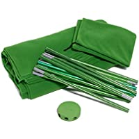 Portable Green Screen Kit by Acro Products – Wrinkle-resistant, chromakey backdrop & collapsible stand. Take it with you and spend less time setting up and editing.