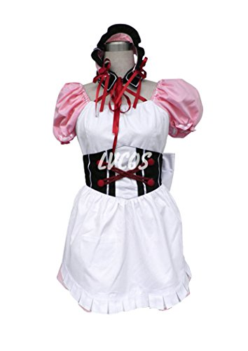 Anime Cosplay Costume The Melancholy of Haruhi Suzumiya Asahina Maid Costume 1st-gen