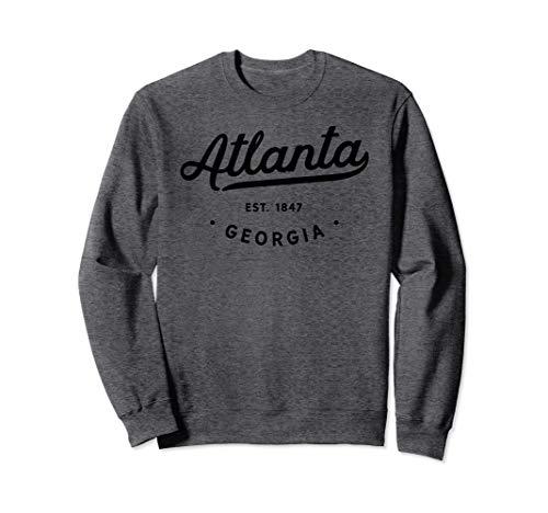 - Classic Retro Vintage Atlanta Georgia Sweatshirt