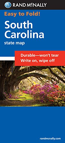 Easy To Fold: South Carolina (Easyfinder Maps)