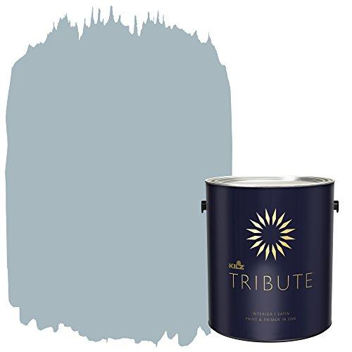 KILZ TRIBUTE Interior Satin Paint and Primer in One, 1 Gallon ...