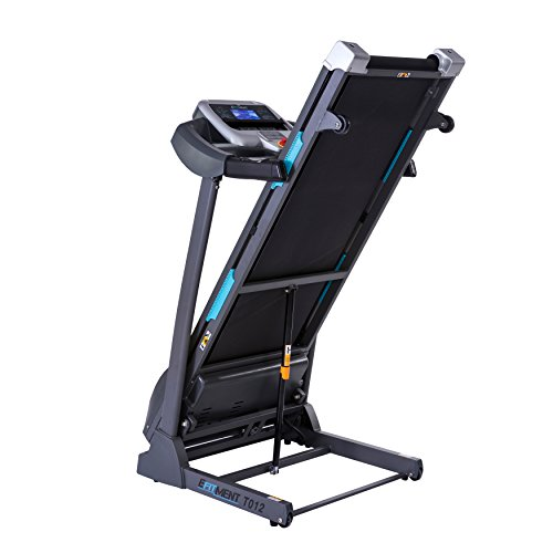 Auto Incline Bluetooth Motorized Treadmill w/ Speakers & Folding for Running & Walking by EFITMENT T012