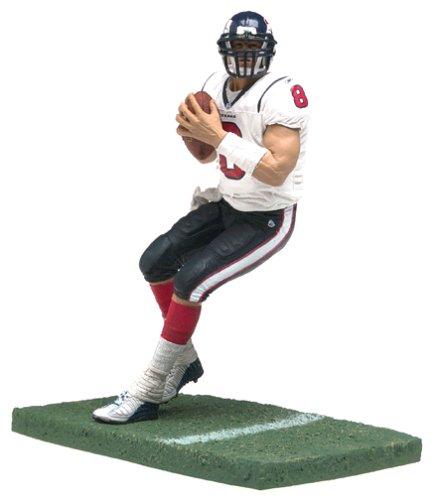 McFarlane Toys NFL Sports Picks Series 7 Action Figure David Carr (Houston Texans) White Jersey