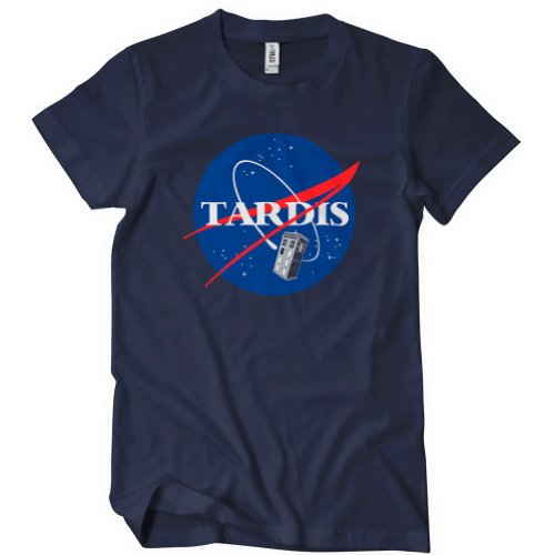 Doctor Who Tardis NASA T Shirt