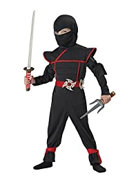 Stealth Ninja Toddler Costume, Size 4-6