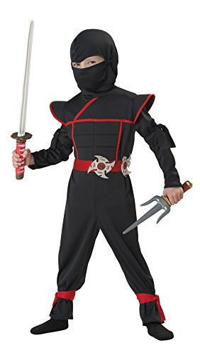 Japanese Dress Up Costumes (California Costumes Stealth Ninja Toddler Costume, 4-6)