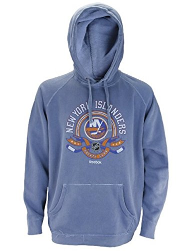 [New York Islanders NHL Men's Vintage Dyed Hoodie - Blue (Large)] (Blue Vintage Hoody)