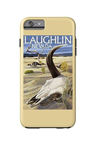 Cow Skull - Laughlin, Nevada (iPhone 6 Plus Cell Phone Case Cell Phone Case, - Images Laughlin Of Nevada