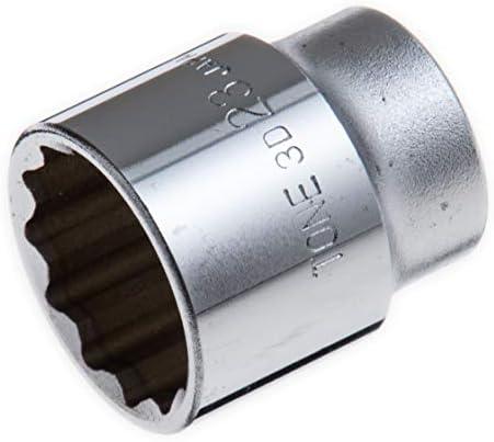 """[スポンサー プロダクト]トネ(TONE) ソケット(12角) HP3D-23 差込角9.5mm(3/8"""") 二面幅23mm"""